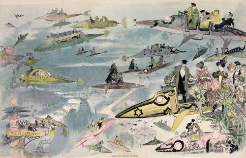 So hat man sich im Jahr 1902 das Jahr 2000 vorgestellt (Bild: gemeinfrei)