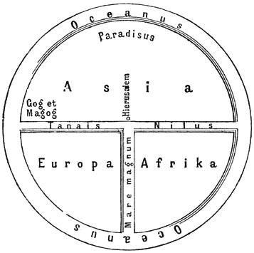 Schematische Darstellung einer typischen Radkarte. (Bild: Wikipedia/Meyers Konversationslexikon, Gemeinfrei