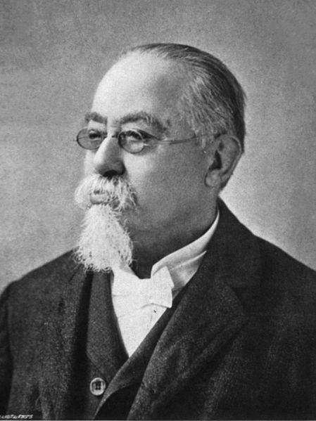 Cesare Lombroso (1835-1909) (Bild: Public Domain)