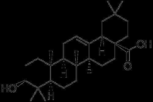 Oleanolsäure (Bild: Public Domain)