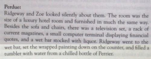Luxusraum-Szene aus Perdue: The Da Vinci Legacy. Quelle: Olsson 2009