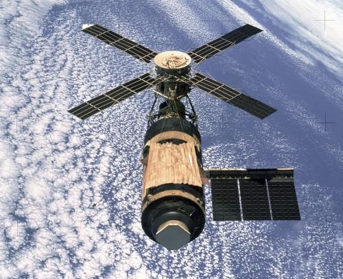 Skylab (Bild: NASA, gemeinfrei)