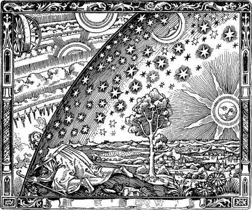Immer wenn man denkt, man hat alles begriffen, irrt man sich. Bild: Camille Flammarion [Public Domain] / Wikimedia Commons