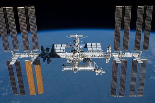 Die ISS im Jahr 2010 (Bild: NASA, gemeinfrei)