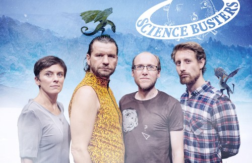 """Nächstes Jahr gibts die große """"Wissenschaft von Game of Thrones""""-Tour der Science Busters durch Österreich, Deutschland und die Schweiz - Tickets gibt's für die Gewinnerinnen und Gewinner des Bewerbs (wenn sie wollen)."""