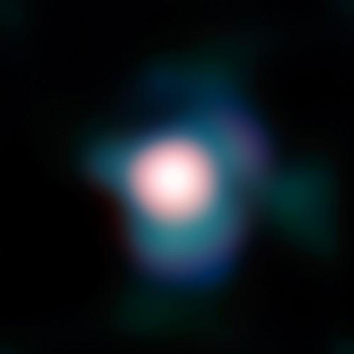 Ein Bild von Beteigeuze mit dem VLT (Bild: ESO and P. Kervella)