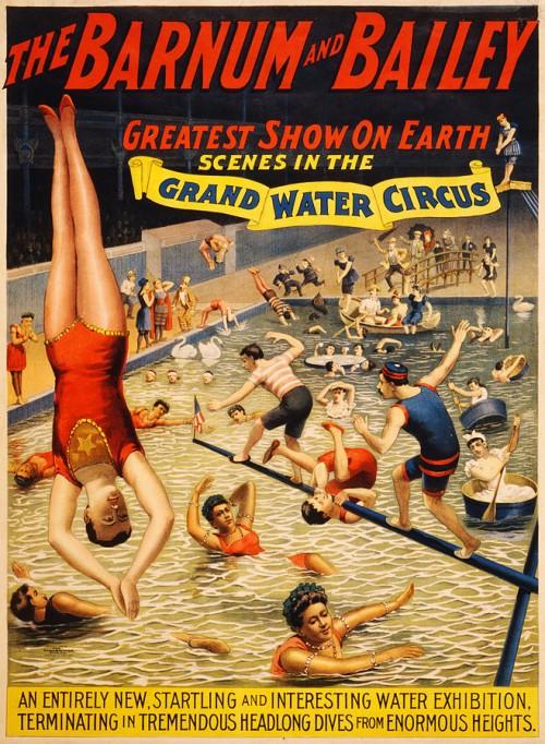 Der große Zirkus ums Wasser findet auch in der FPÖ statt (Bild: Public Domain)