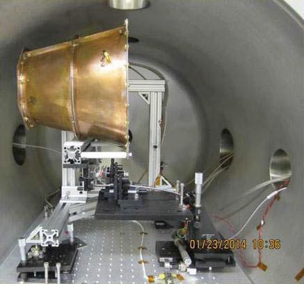 Der EmDrive in der Testkammer (Bild: NASA)