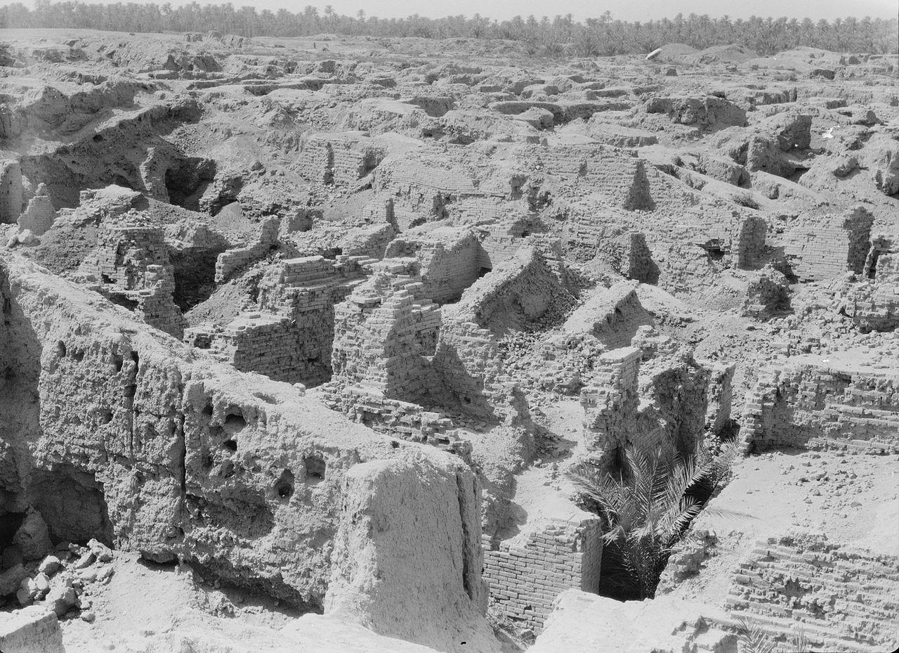 Ruinen von Babylon (Bild: gemeinfrei)