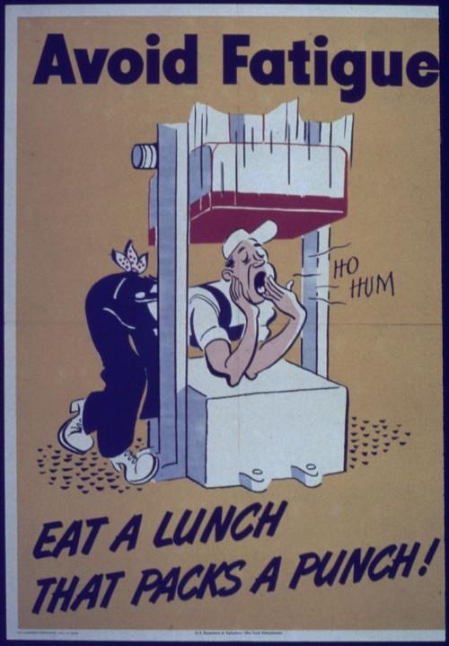 Liegt es am Essen? (Bild: NARA, Public Domain)