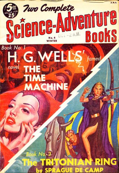 Zeitmaschinen sind cool - aber leider nur Sci-Fi (Bild: Public Domain)