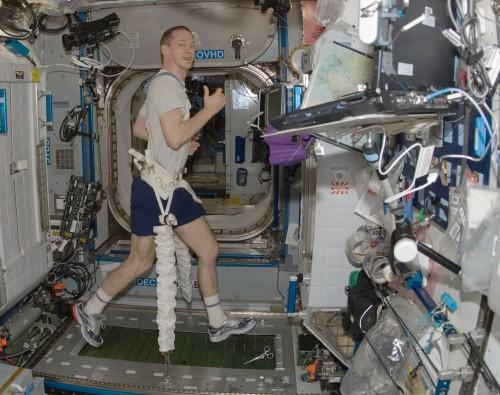 Im Weltall hat man keine Wahl; auf der Erde zum Glück schon (Bild: NASA)