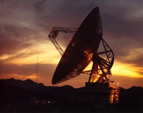 Goldstone Antenne der NASA (Bild: NASA, Public Domain)