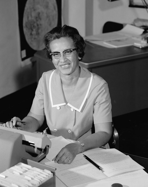 Katherine Johnson, im Jahr 1966 (Bild: NASA, public domain)