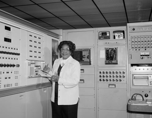 Mary Jackson im Jahr 1977 (Bild: NASA, public domain)