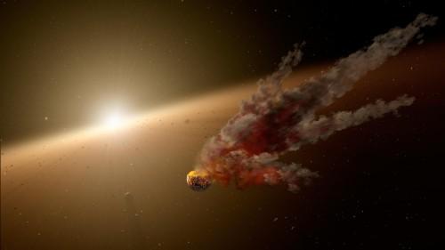 """Planetenentstehung ist eine chaotische Sache (Bild: NASA/JPL-Caltech"""""""