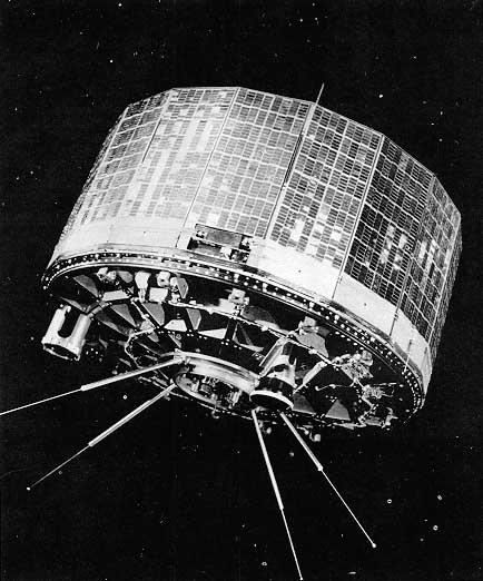 TIROS-Satellit (Bild: gemeinfrei)