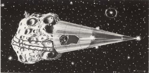 So einfach wird man Asteroiden nicht los... (Bild: NASA)
