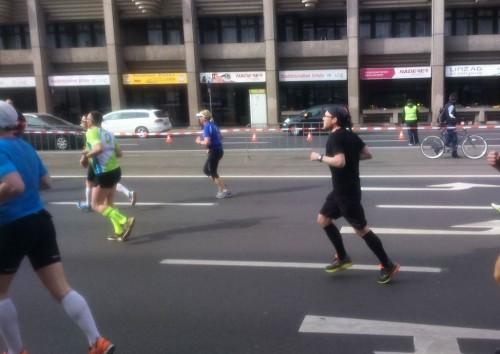 Auf dem Weg ins Ziel beim Linz-Marathon 2016