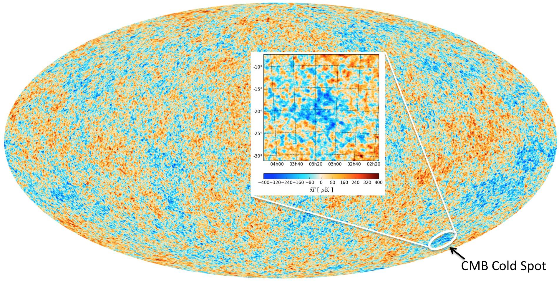 """Der kalte Fleck im Kosmos und der """"Beweis"""" für die Existenz des Multiversums"""