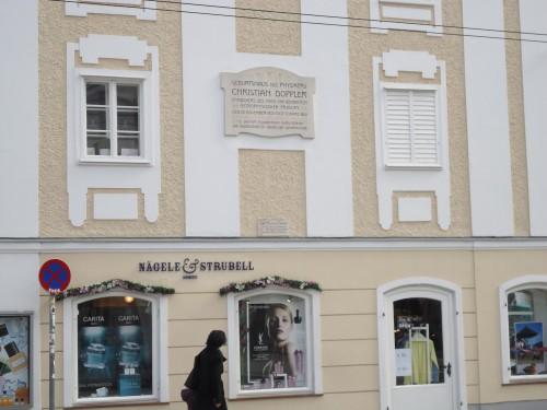 Wohnhaus von Christian Doppler in Salzburg