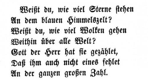 Bild: Wilhelm Hey: Noch fünfzig Fabeln für Kinder : nebst einem ernsthaften Anhange (Ausgabe Gotha 1852, Anhang S. 18, S. 19), gemeinfrei