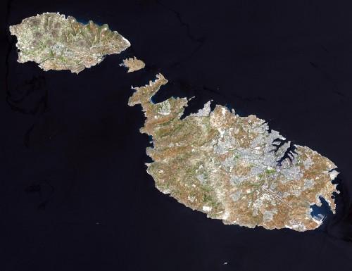 Malta muss sich Sorgen machen. Der Rest der Welt aber nicht (Bild:  NASA/GSFC/MITI/ERSDAC/JAROS, and U.S./Japan ASTER Science Team)