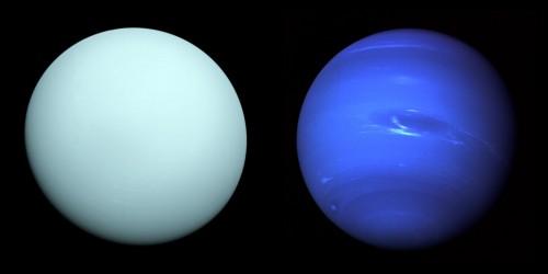 Langweilige blaue Kugeln? (Bild: NASA/JPL-Caltech)