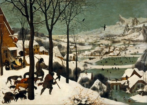 Winterbilder waren der Hit im 17. Jahrhundert! (Bild: Pieter Bruegel)