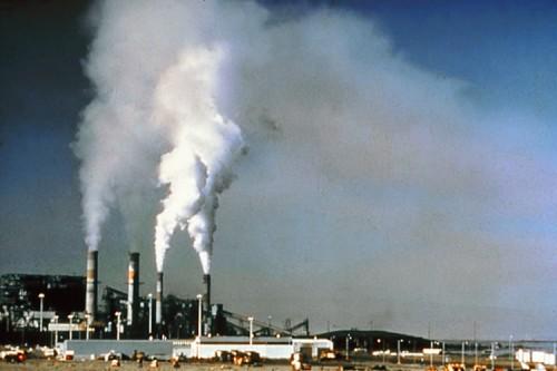 Kohle verbrennen macht schlechte Luft (Bild: NPS, public domain