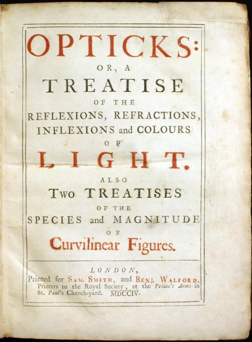 Newtons Optik