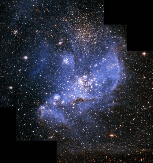 Ein Teil der kleinen Magellanschen Wolke (Bild: NASA, ESA and A. Nota (STScI/ESA))