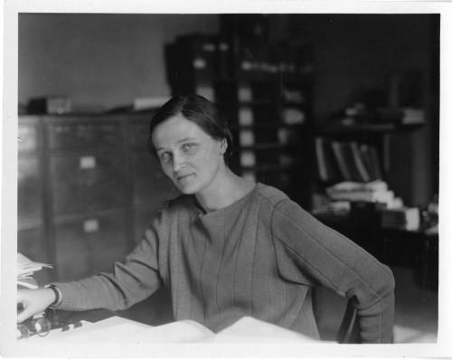 Cecilia Payne-Gaposchkin (Bild: Smithsonian Institute, gemeinfrei)