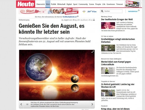 "Screenshot ""Heute"""