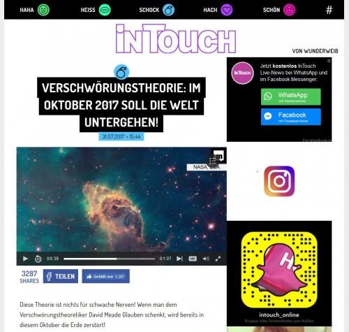 """Screenshot """"InTouch"""""""