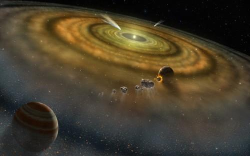 Wie reproduzierbar ist die Entstehung von Planeten (Bild: NASA/FUSE/Lynette Cook)