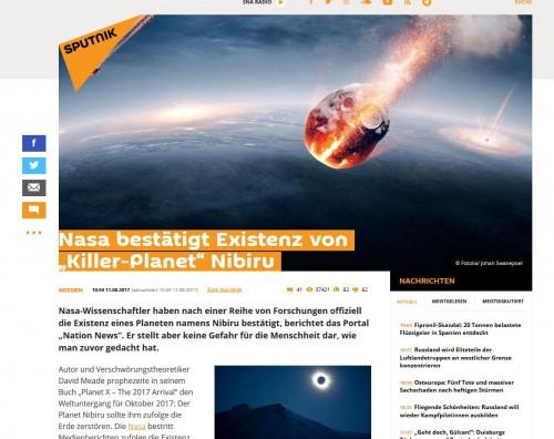 "Screenshot ""Sputnik"""