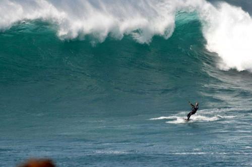 Das ist mein bester Surfbuddy. Ich fürchte, er wird nicht einfach eines Tages friedlich in seinem Bett einschlafen... (eigenes Foto)