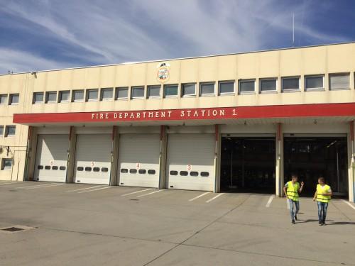 Das Feuerwehrzentrum (Author: Gergõ Fehérvári)