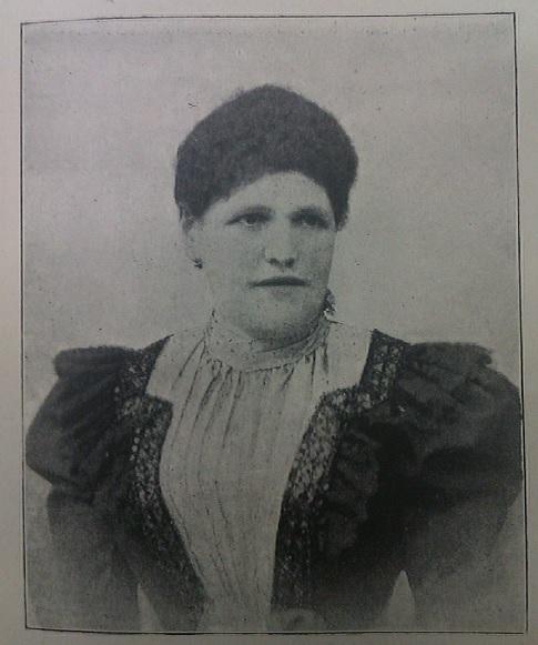 Marie Schmall (aus: Schmall: Die ZUkunftsküche. 1900: 52, gemeinfrei)