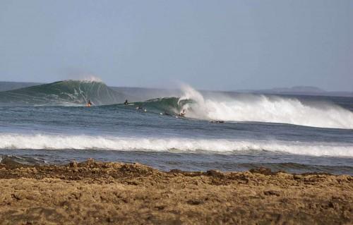 Die Northshore bietet hervorragende Bedingungen zum Surfen, Windsurfen, Kiten, Angeln, Schnorcheln etc. Wie lange noch? (eigenes Foto)