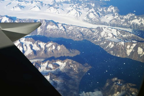 Fjordlandschaft an der Küste Grönlands, © Autor