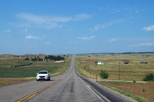 Die Weite der Prärie von Wyoming, © Autor
