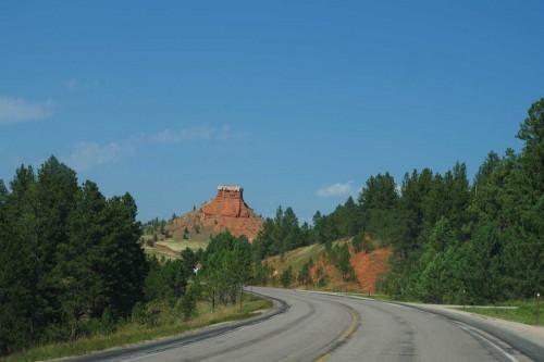 Sandsteinfelsen in den Black Hills, Wyoming, © Autor