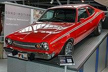 Bild des verwendeten AMC Hornets (Urheber Morio, Creative Commons BY 3.0
