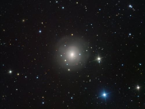 Die Galaxie NGC 4993 in der die Neutronensterne verschmolzen sind (Bild: ESO/A.J. Levan, N.R. Tanvir)