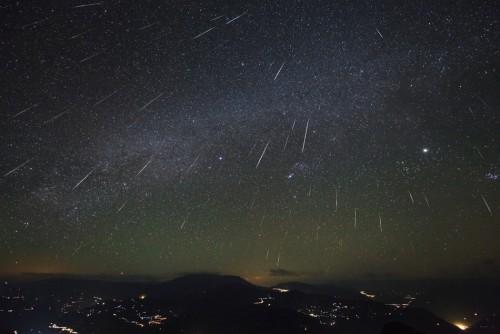 Die Geminiden-Sternschnuppen kommen von Phaethon. Vermutlich. (Bild: NASA)