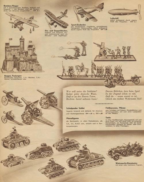Ende der 1930er Jahre wünschte man sich Krieg (Bild: Public Domain)