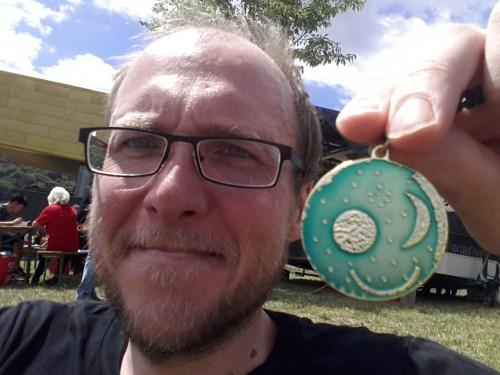 Bestzeit und Himmelsscheiben-Medaille!