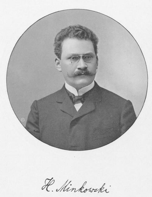 Mag Räume: Hermann Minkowski (Bild: Public Domain)